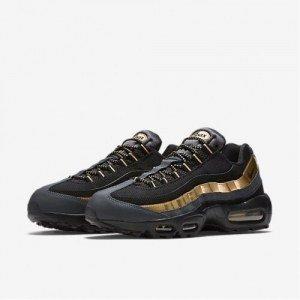 ... Кроссовки Nike air max 95 Essential арт.104220 009 черный золото  (black  ... dbfbb1cd8e849